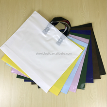 factory sell customized logo print clothing cosmetics PE packaging plastic bag