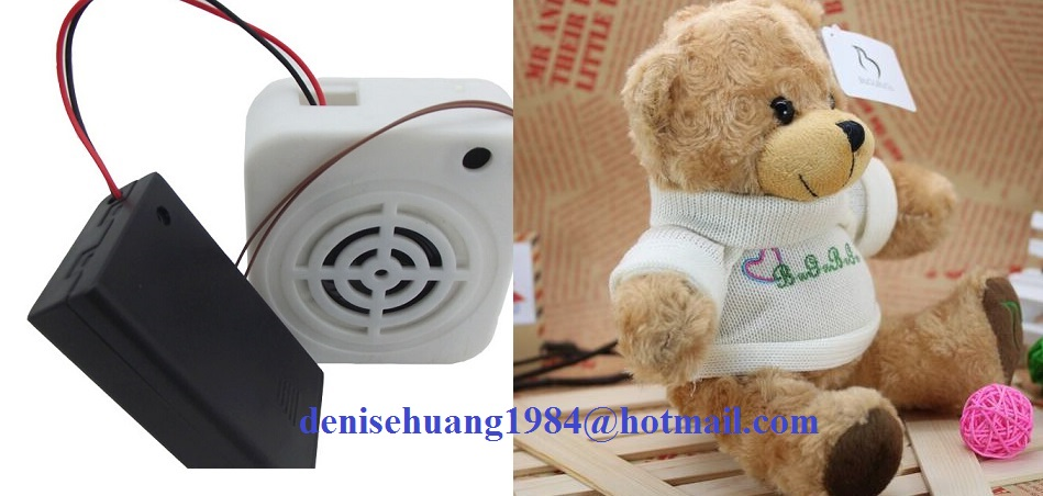 Luxury kids toys musical plush teddy bear with T-shirt recording plush toys