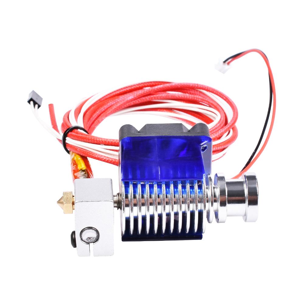 Metal 3D Printer Extruder J-head Hotend Bowden Set for 1.75mm//0.4mm V6 12V