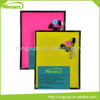 Latest design full color printing children convenient use mini dry erase magnetic whiteboard
