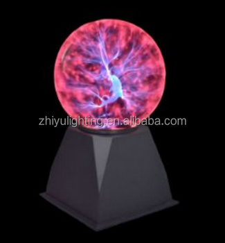 Static Ball Electricity Ball Static Ball Tesla Ball Large Plasma Ball  Plasma Dj Lamp