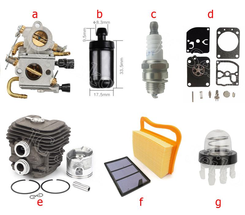 L7T Spark Plug For STI HL MS250 MS230 MS210 MS340 MS360 MS290 MS310 MS361 MS390 49cc 52cc Strimmer Brush Hedge Cutter
