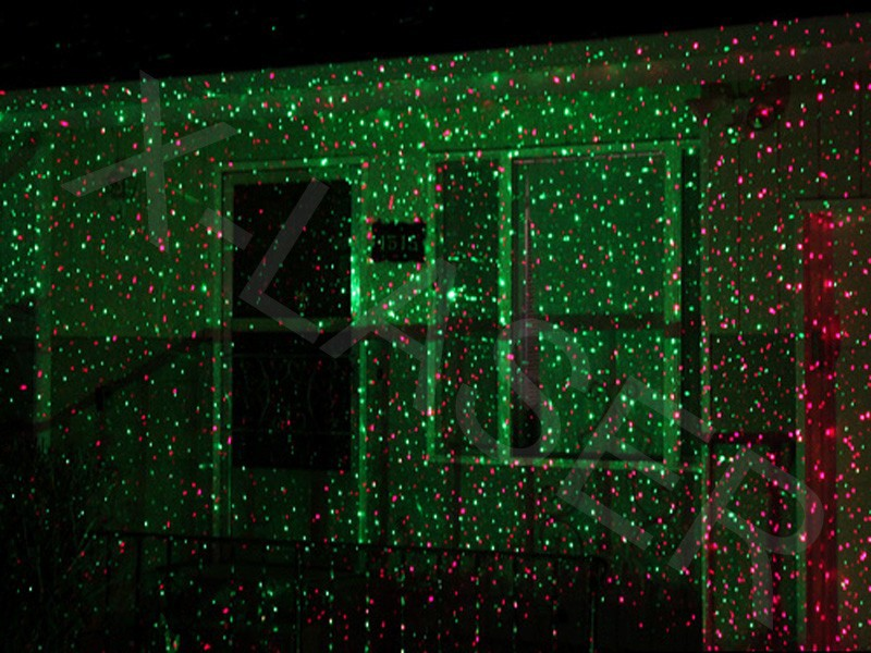 Laser pour decoration de noel for Laser exterieur noel