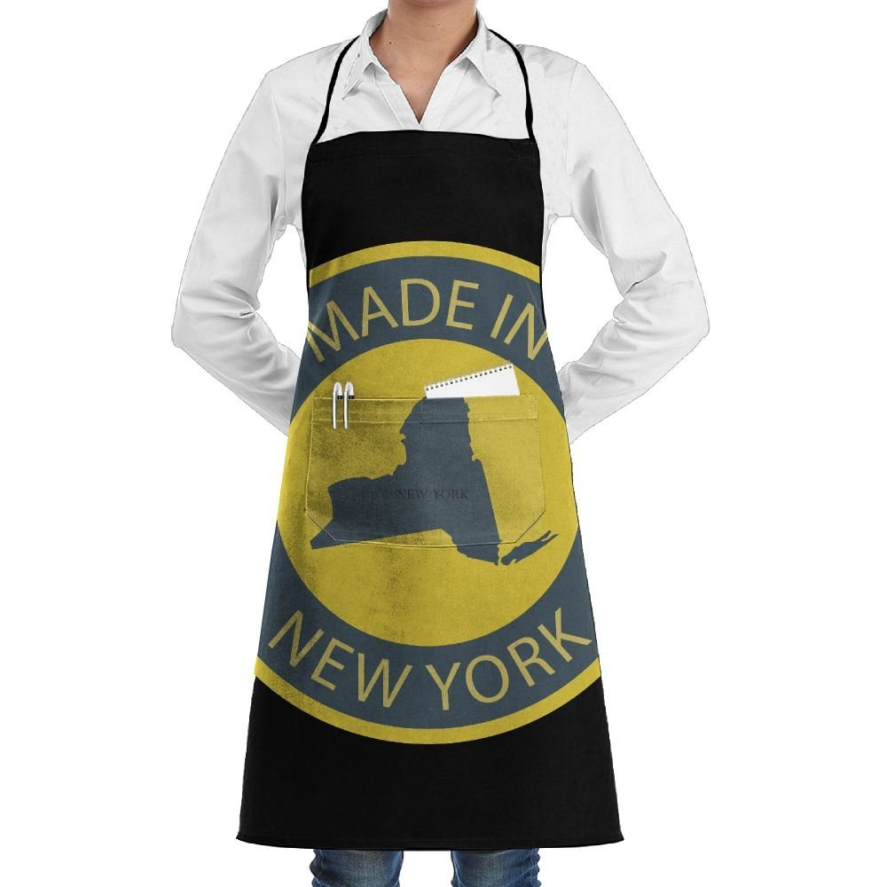 2c5cf2dfff3 Get Quotations · RZ GMSC Novelty Made In New York Kitchen Chef Apron With  Big Pockets - Chef Apron
