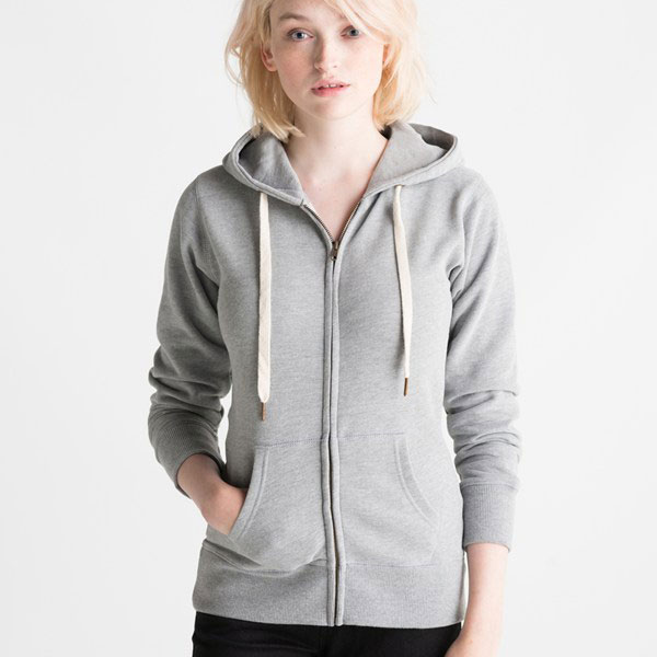 2016 Women's Zip Through Hoodie from china supplier