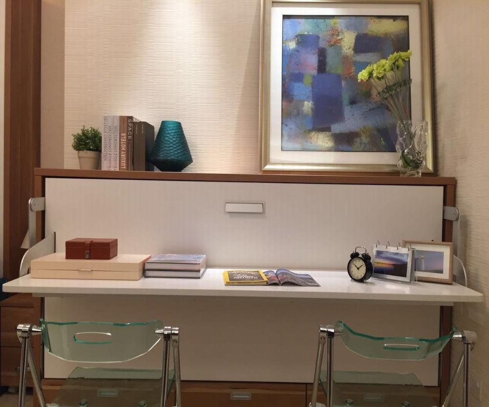 Pared Moderna Cama Desplegable Plegable Cama Murphy Transferencia  # Muebles Ahorro Total