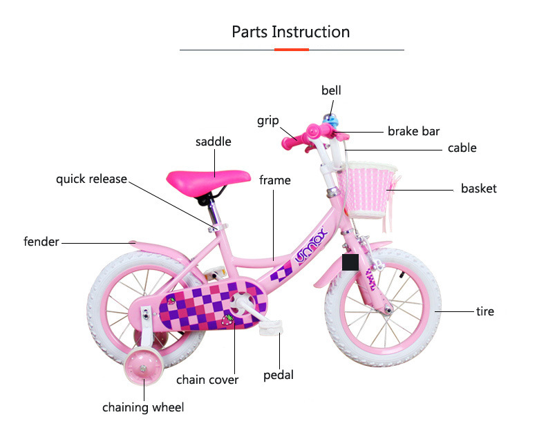 12 20 Kid Bike For 3 To 6 Years Old Boy And Girl Student Bicycle