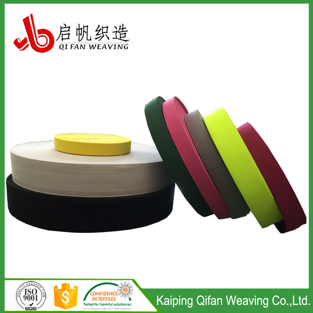 Okeo-Tex Factory knitted elastic band for garment & elastic webbing for clothes