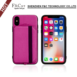 2018 new design shenzhen factory price mobile case card for iphone x mobile accessories