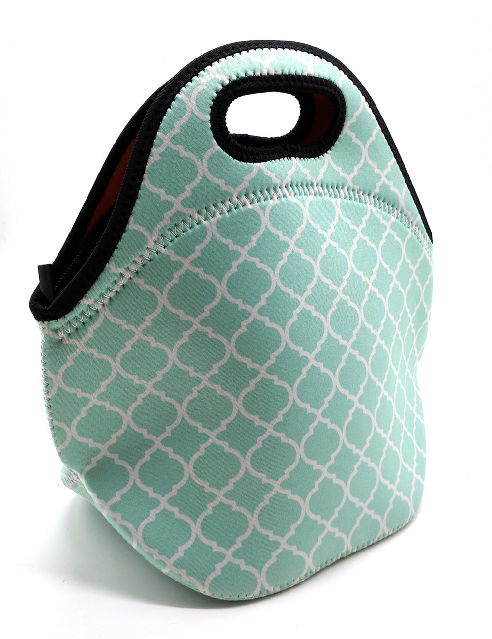 102cf059538d Buy ALLENLIFE Waterproof cute small neoprene lunch bag Insulated ...