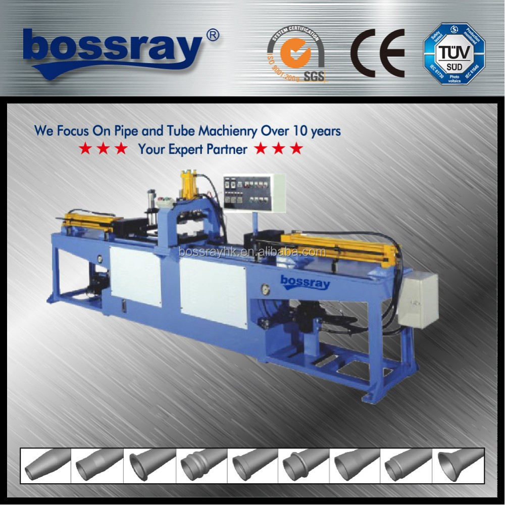 Double Heads Tube End Forming Machines With Expand and Reduce Functions
