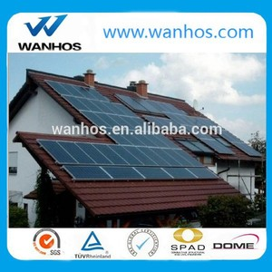 pv solar panel tile roof aluminum mount/bracket/racking system
