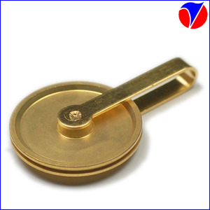 Good Quality and Competitive Price China Manufacturer Custom Brass Pulley