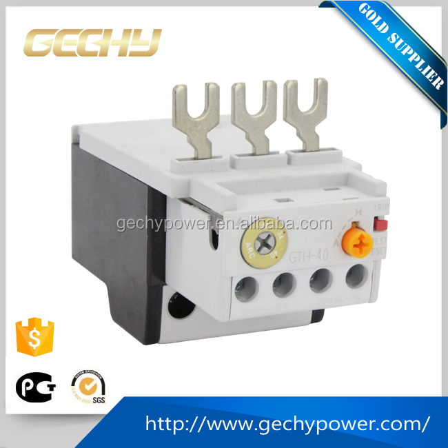 Professional factory made GTH-40 voltage monitoring magnetic overload electrical Thermal Overload Relay