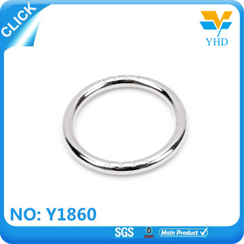 various size metal hair ring with high qual