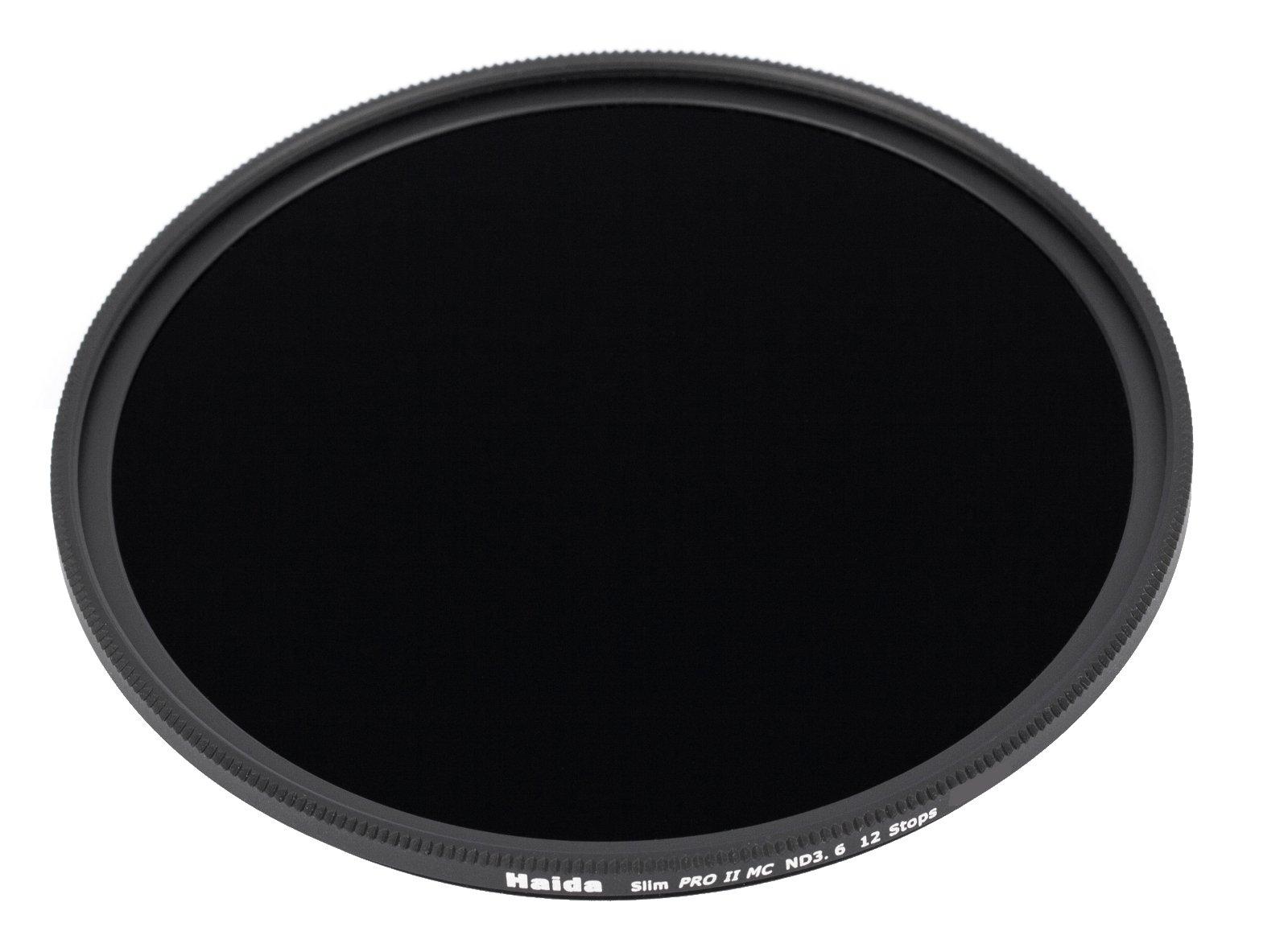 Haida PRO II Multi-Coated ND 3.6 4000X 12 Stops Optical Glass Neutral Density Filter, 67mm