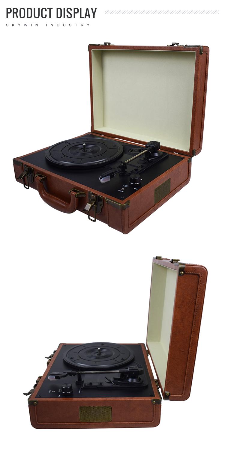 USB dönüştürücü MP3 Player ile Çoklu Vinil Kayıt Oynatıcı