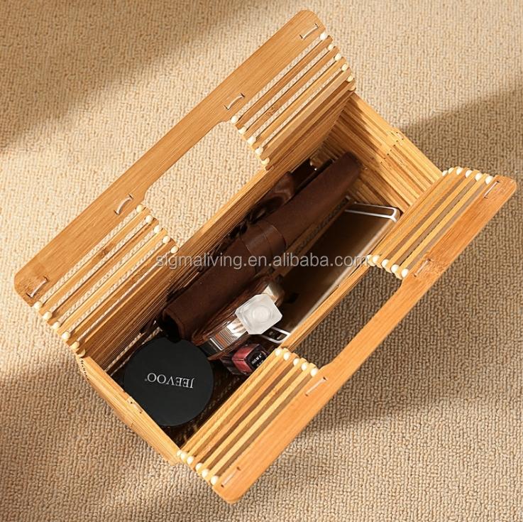 Portable Buy À Acrylique Usine Stockage Bambou Artisanat Paille Rectangulaire Sac Directe Japonais Main Satchel De hrtsQd