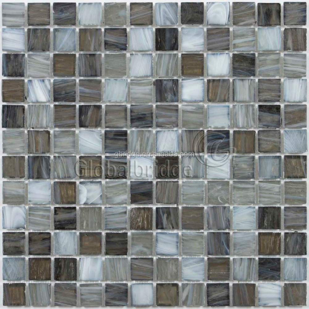 cracked glass mosaic or glass tile