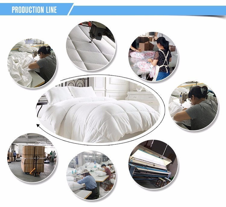 Hotel quality colorful 100% polyester hollow fiber pillow