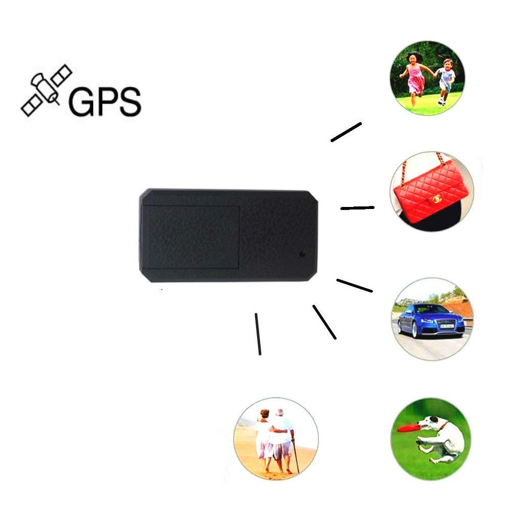 Hangang Mini GPS Tracker, GPS Locator for Kids Personal Tracking Device Children GPS Locator GPS/LBS Positioning 200h Standby Gen-Fence and History Memory