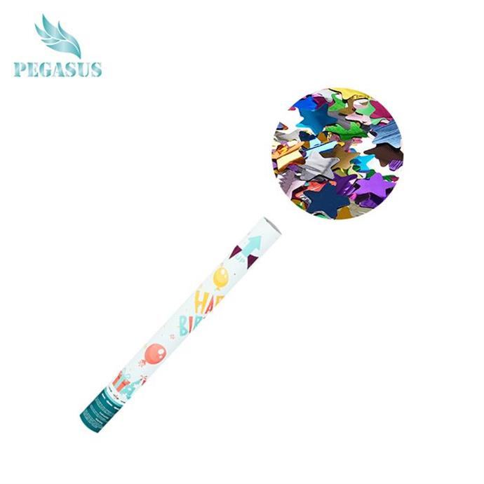 New designed high quality party shooter confetti popper
