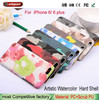 Can get free samples phone cover Watercolor for iphone 5c case New painting case for iphone 5g