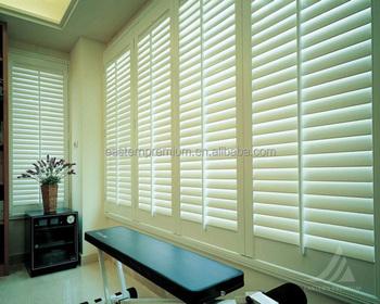 german horizontal interior pvc plantation bi fold swinging window