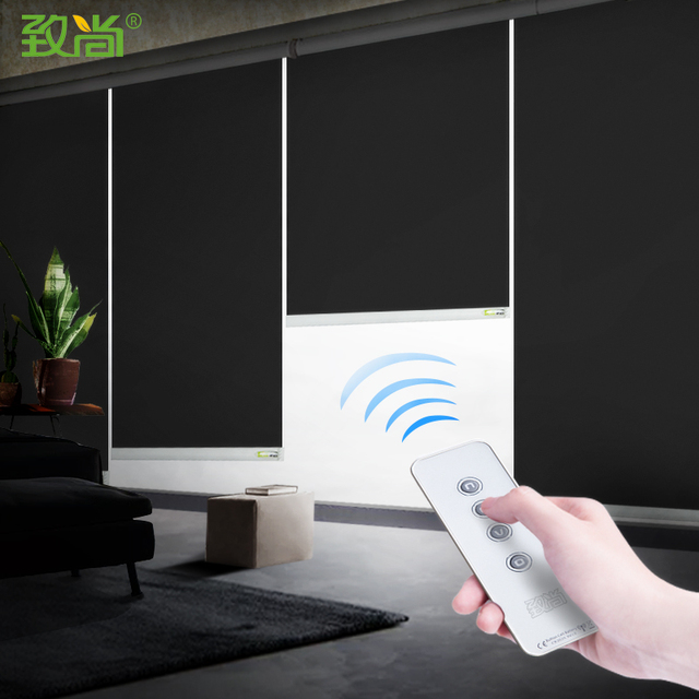 Smart Home Roller Blind Motor Shutter Alexa Or Google Home Directly  Controlled By Voice Or By App Motorized Roller Blinds - Buy Smart  Curtain,Electric