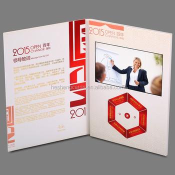 Customized digital lcd video greeting cardvideo business card buy customized digital lcd video greeting cardvideo business card m4hsunfo