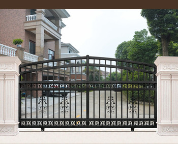 Gate 001 Latest Simple Iron Sliding Indian House Main Gate Designs