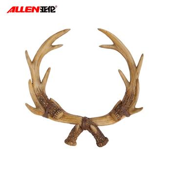 Wholesale decorative resin artificial deer antlers for for Fake deer antlers for crafts