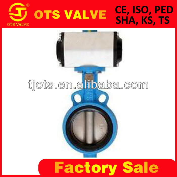Wholesale Bv-SY-459 butterfly valves with sanitary pneumatic ...
