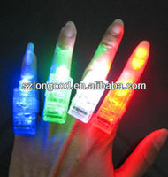 Wholesale LED Party Laser Finger Light Flash Colourful Torch Light Ring
