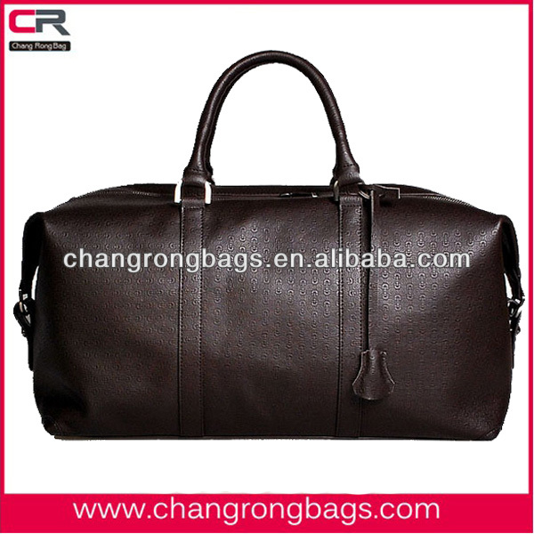 Top quality and classic men's leather travel bag 2014