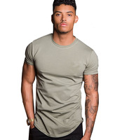 Wholesale 95% cotton 5% elastane men slim fit t shirt bulk