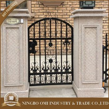 Hot Sales Best Quality New Style Ornamental Wrought Iron Gate Designs/Hot  Sell China Outdoor