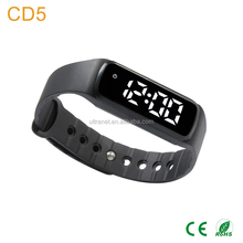 CE Fashion Waterproof Fitness Watch Smart Wristband Pedometer With Accelerometer