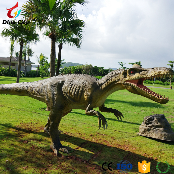 China Park 3D Movies Life-size Animatronic Dinosaur Models