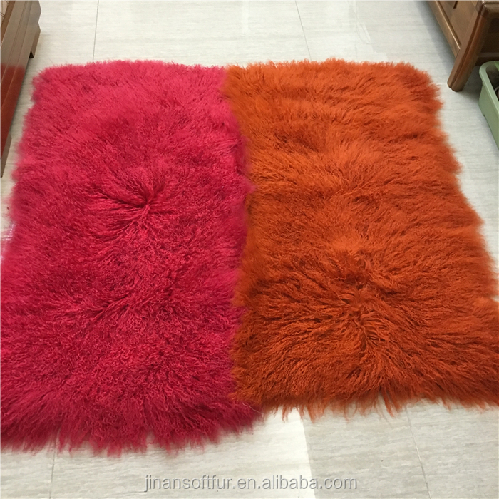 Music Memorabilia Real Mongolian Lamb Fur Plate Real Fur Blanket For Sofa Fur Throw Rug Blankets Rugs Sheep Skin Carpet Tibetan Buy One Get One Free