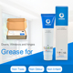 Lubricating grease set for doors, windows, hinges and slideways with application tools