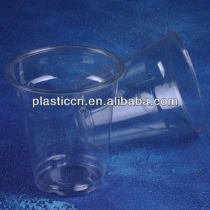 disposable foam cups/plastic cup/cold drinking cup plastic