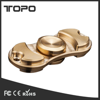 2017 innovative product ideas new hand spinner fidget toy marble kid adult toys brass stainless steel Fingertip gyroscope hot