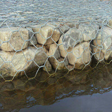cheaper price of Anping hexagonal Wire Mesh Customized Gabion Mattresses Manufacture