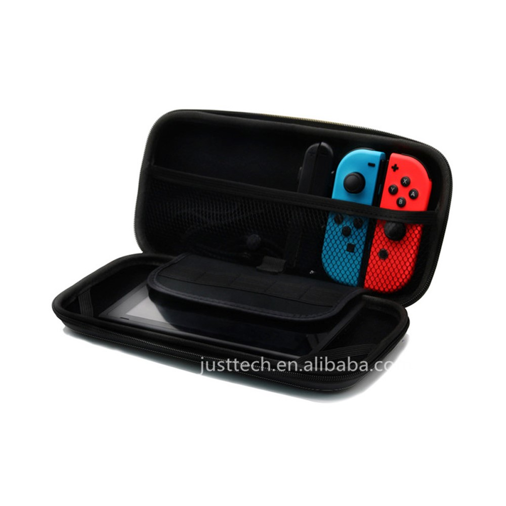 2017 New Arrival Portable For Nitendo Switch Eva Case Protective Storage Bag With 8 Game Holder For Nintendo Switch