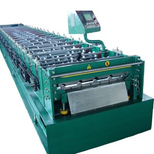tile forming machine sheet colored stell/tile maker machine