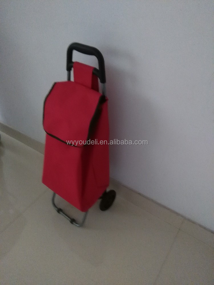 600D new product trolley folding electric golf trolley wheels Shopping trolley/ Cart with wheels