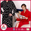 Cheap price beautiful long sleeve cotton women terry bathrobe gown wholesale