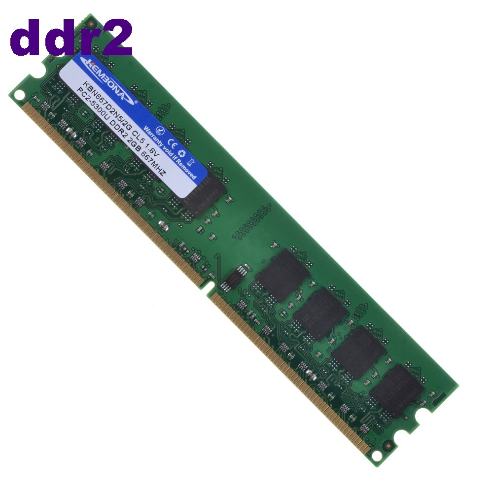 800mhz ddr2 desktop pc6400 2gb 240pin ram memory 100% full compatible ddr ram