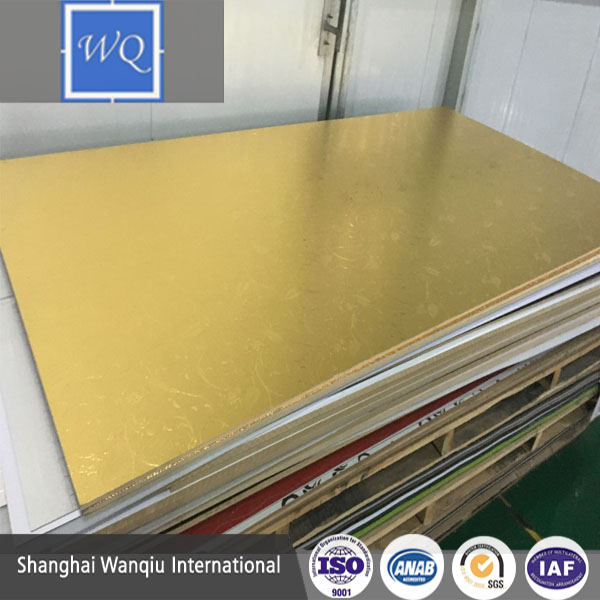 3-18mm Aluminum MDF Board/Aluminium Foil Faced/pressed MDF/Plywood